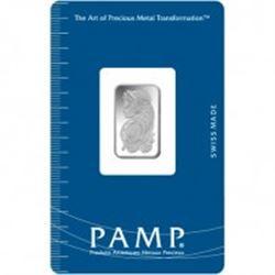 2.5 gram Pamp Suisse SILVER Bar