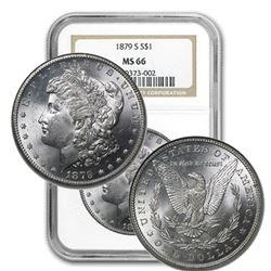 1879 s MS 66 NGC STUNNER! Morgan Dollar