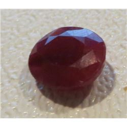 3 ct. Natural Red Ruby Gemstone
