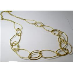 Gold Toned  Fashion necklace