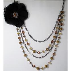 Multi Chain Fashion necklace