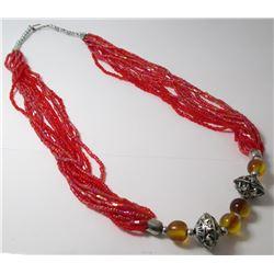 Multi Bead Fashion necklace Fashion necklace