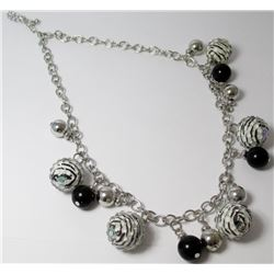 Bead chain Fashion necklace