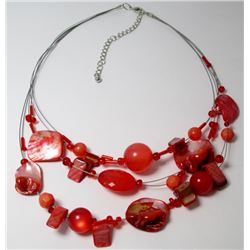 Faux Shell  Fashion necklace