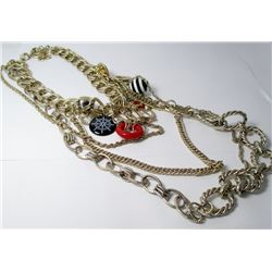 Multi Chain Fashion necklace