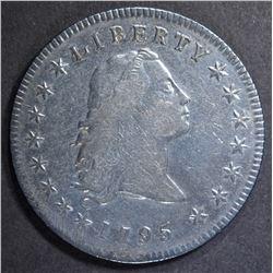 1795 FLOWING HAIR DOLLAR  VF/XF