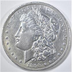 1893-O MORGAN DOLLAR  AU/BU