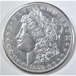 1879-CC MORGAN DOLLAR  AU