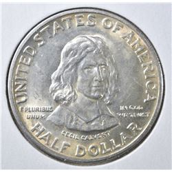 1934 MARYLAND COMMEM HALF DOLLAR  V CH BU