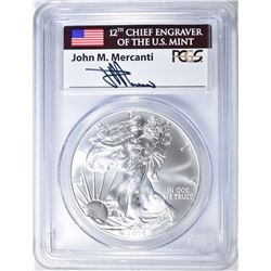 2014 AMERICAN SILVER EAGLE PCGS MS-70 FIRST STRIKE