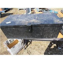 TOOL BOX (BLACK METAL)