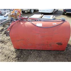 125 GALLON FUEL TANK (FILL-RITE) *COMPLETE WITH ELECTRIC PUMP)