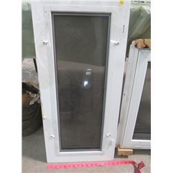 """LOT OF WINDOWS AND METAL SOFFIT (NEW) * 1ST WINDOW 34"""" X 15.5""""* (2ND WINDOW 34.5"""" X 22.5"""") * 4  PACK"""