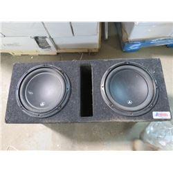 LOT OF CAR STEREO ITEMS (A-TREND BOX, JL AUDIO, X-POWER ALPINE MONO POWER AMP MVX-M100)