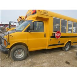 2001 SCHOOL BUS (GIRARDIN) *20 PASSENGER* (1GDHG31F111185573) *WHEELCHAIR LIFT INCLUDED*