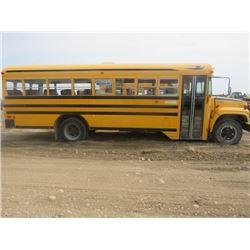 2000 SCHOOL BUS ( BLUE BIRD) *48 PASSENGER* (1GDG7T1C7YJ507130)