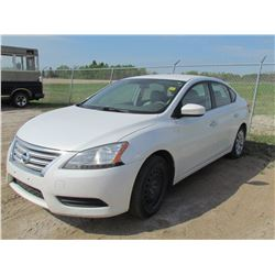 2013 NISSAN SENTRA ( AUTOMATIC, 182,000KLMS) *HAS TRANSMISSION PROBLEMS* (3N1AB7AP5DL700109)