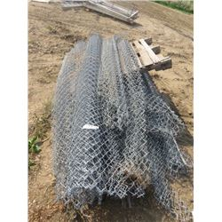 CHAIN LINK FENCING (PALLET) *6', 7', 8' LENGTHS*