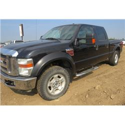2008 FORD F350 SUPER DUTY 4 x 4 (NEEDS SOME ENGINE WORK) *IFTWW31R98EC08870