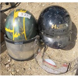 LOT OF 2 HELMETS