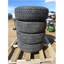 LOT OF 4 TIRES ( 265/70/16) *BF GOODRICH*
