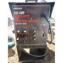WELDER ( POWER MATE) *225 AMP WIRE FEED*