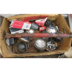 LOT OF MISC TOOLS (LIGHTS, GASKETS, ETC)