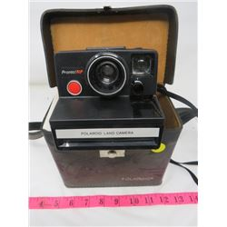 POLAROID LAND CAMERA WITH ORIGINAL CASE