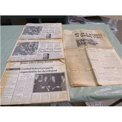 NEWSPAPER (PRINCE ALBERT DAILY HERALD (1966)