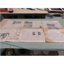 NEWSPAPER (PRINCE ALBERT DAILY HERALD (1972) *CARROT RIVER FLOOD*