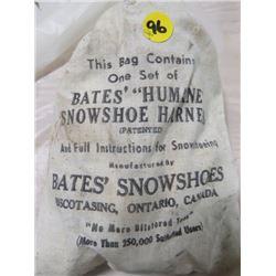 ONE SET OF HUMANE SNOWSHOE HARNESS (BATES BRAND)
