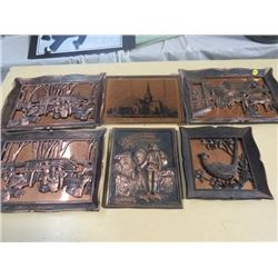 LOT OF SIGNS/PICTURES (COPPER)