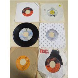 LOT OF RECORDS (SIZE 45) *BOOT, VICKI LAWRENCE, ASYLUM RECORDS, 2 ATLANTIC, & DOLLY PARTON*