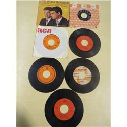 LOT OF RECORDS (SIZE 45) *THE EVERLY BROTHERS, GRADY MARTIN, PATTI PAGE ETC*