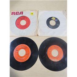 LOT OF RECORDS (SIZE 45) *WINK MARTINDALE, LINDA RONSTADT, DICK DAMRON ETC*