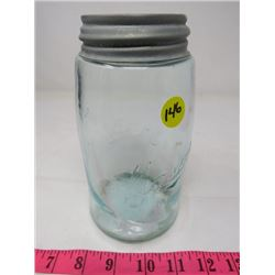 THE MASON JAR (TURNING COLOR, PORCELAIN TOP) *LOTS OF IMPERFECTIONS*