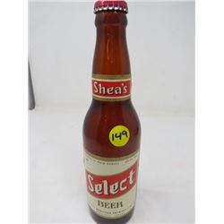 SELECT BEER (UNION MADE, SHEA'S-NEVER OPENED)