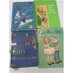 Lot Of Books Fun With Dick And Jane Beconing Trails Health And Safety Read Me A Story