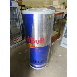 """RED BULL FRIDGE/COOLER (40X58X18)*NOT GARANTEED TO WORK, SOLD IN """"AS IS"""" CONDITION*"""