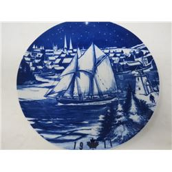DECORATIVE PLATE (CANADA CHRISTMAS) *1977* (LIMITED EDITION)
