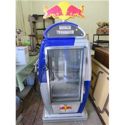 """RED BULL FRIDGE/COOLER (65X32X19)*NOT GARANTEED TO WORK, SOLD IN """"AS IS"""" CONDITION*"""