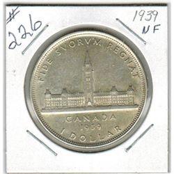 SILVER DOLLAR (CANADIAN) *1939*