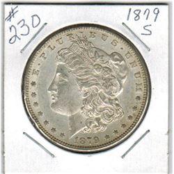 SILVER DOLLAR  (US MORGAN) *1879S*