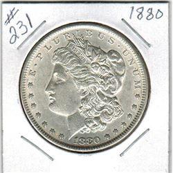 SILVER DOLLAR  (US MORGAN) *1880*