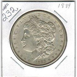 SILVER DOLLAR  (US MORGAN) *1889*