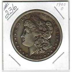 SILVER DOLLAR  (US MORGAN) *1900 0*