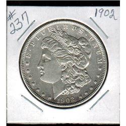SILVER DOLLAR  (US MORGAN) *1902*