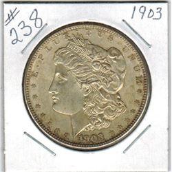 SILVER DOLLAR  (US MORGAN) *1903*