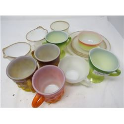 LOT OF ASSORTED  FIREKING AND PYREX
