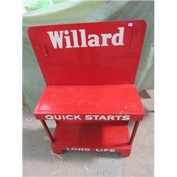 "WILLARD BATTERY STAND (34"" X 22"")"